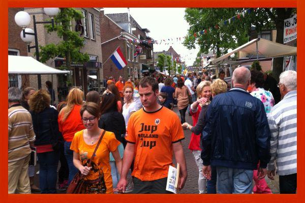Obchody Dnia Króla (26 kwietnia) w Zevenhuizen. Fot. archiwum Niedziela.NL
