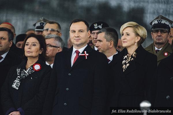 Obchody Święta Niepodległości z udziałem Prezydenta RP, fot. Eliza Radzikowska-Białobrzewska